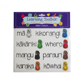 Colours In Māori (8 Pce Magnets)