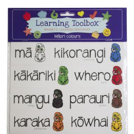 Māori Colour Magnets