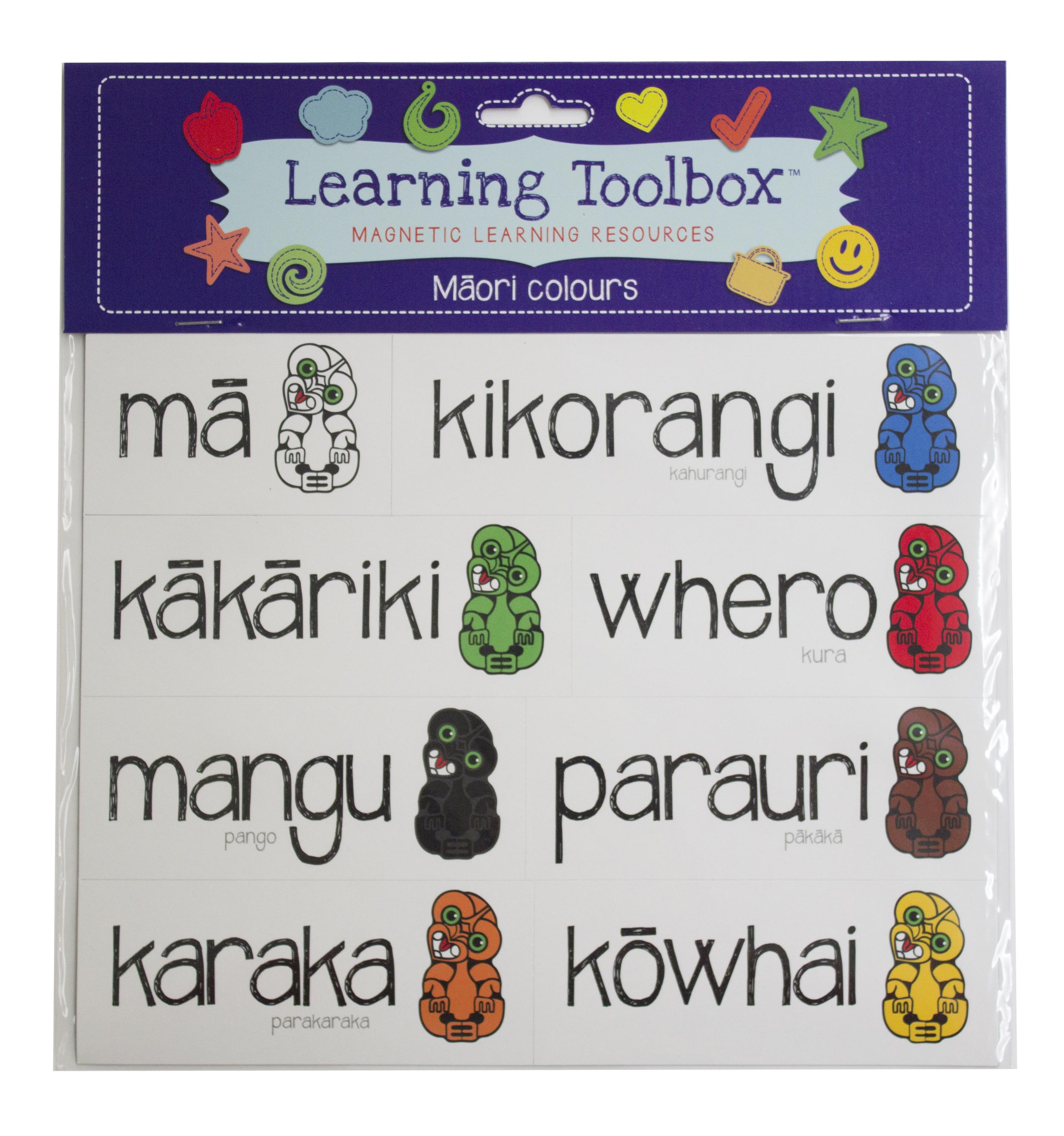 Māori Colour Magnets