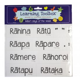 Māori Days Of The Week Magnets