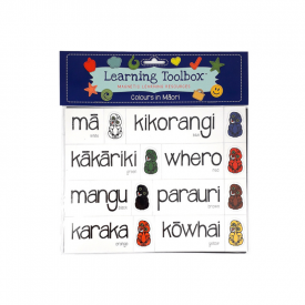 Colours In Māori (27 Pce Magnets)