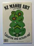 NZ Māori art colouring and activity pad