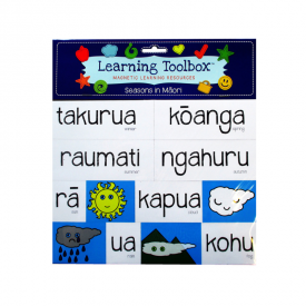 Seasons In Māori (24 Pce Magnets)