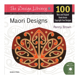 Maori Designs (With CD Rom)