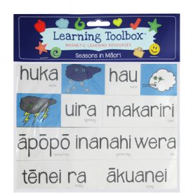 Seasons & Weather Magnets In Te Reo Māori