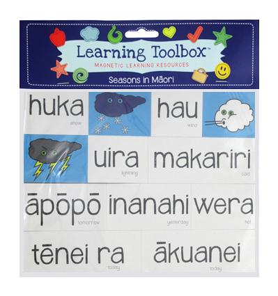 Seasons & Weather Magnets In Te Reo Māori
