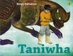 "Taniwha By Robyn Kahukiwa  ""A little boy has made friends with the taniwha in his river but no one believes him. The taniwha takes the boy on a journey through time and myth where he meets some amazing characters, gathering the earth's treasures as he goes"".  Award winning picture book for 3-6 year olds."