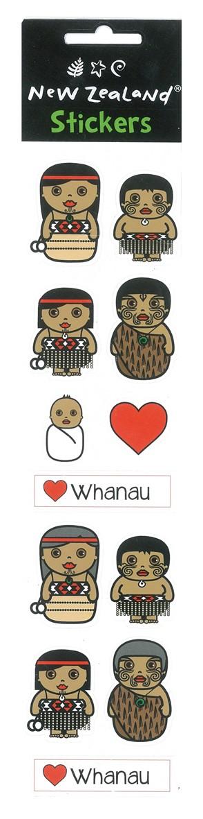 Whānau Stickers