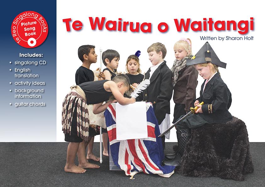 Te Wairua O Waitangi (Singalong Book And CD)