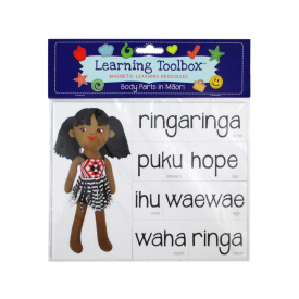 Body Parts In Māori (magnets)