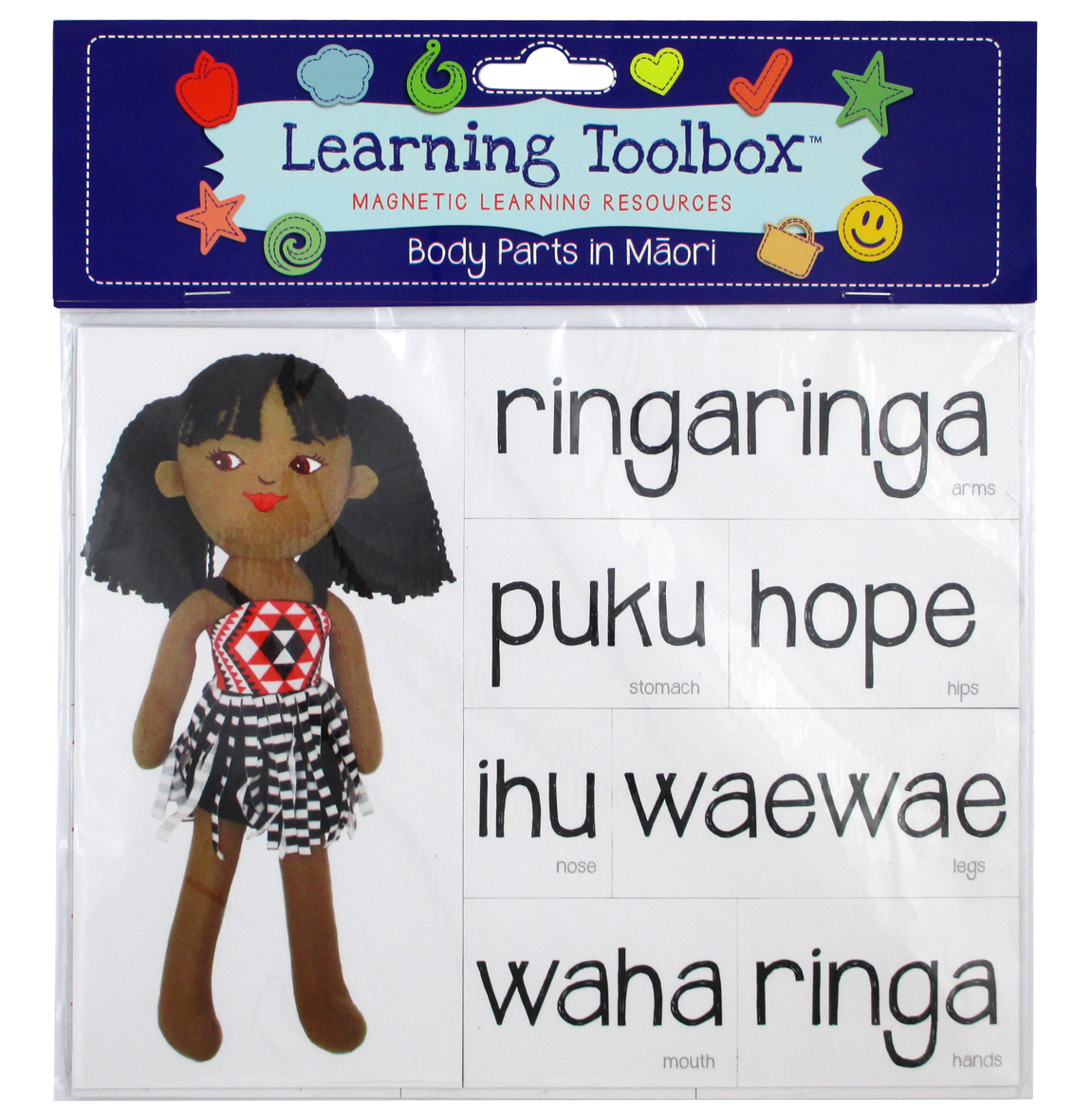 Body Parts Magnets In Te Reo Māori