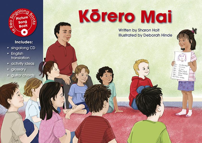 Kōrero Mai (Singalong Book And CD)