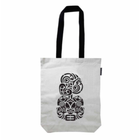 Tiki Canvas Tote Bag