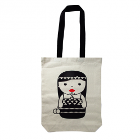 Kapahaka Kotiro Canvas Tote Bag