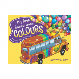My First Board Book: Colours (Board Book)