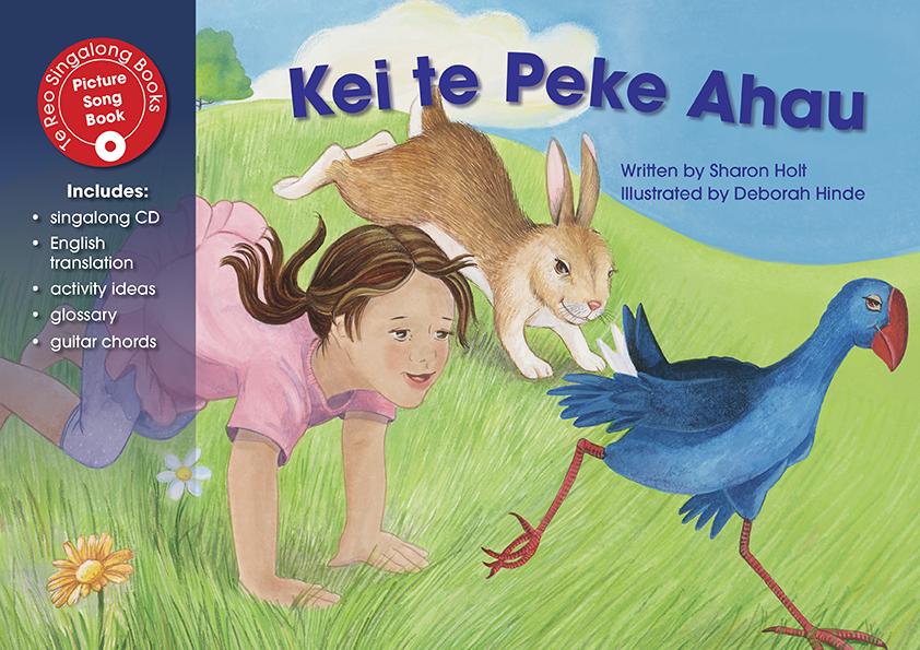 Kei Te Peke Ahau (Singalong Book And CD)