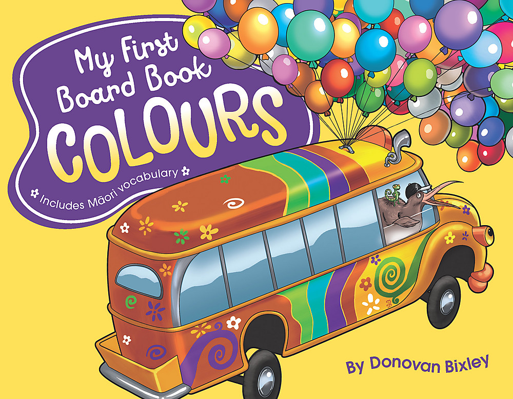 My First Board Book: Colours