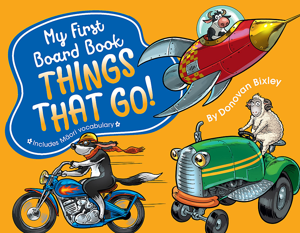 My First Board Book: Things That Go