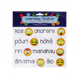 Feelings In Māori (35 Pce Magnets)