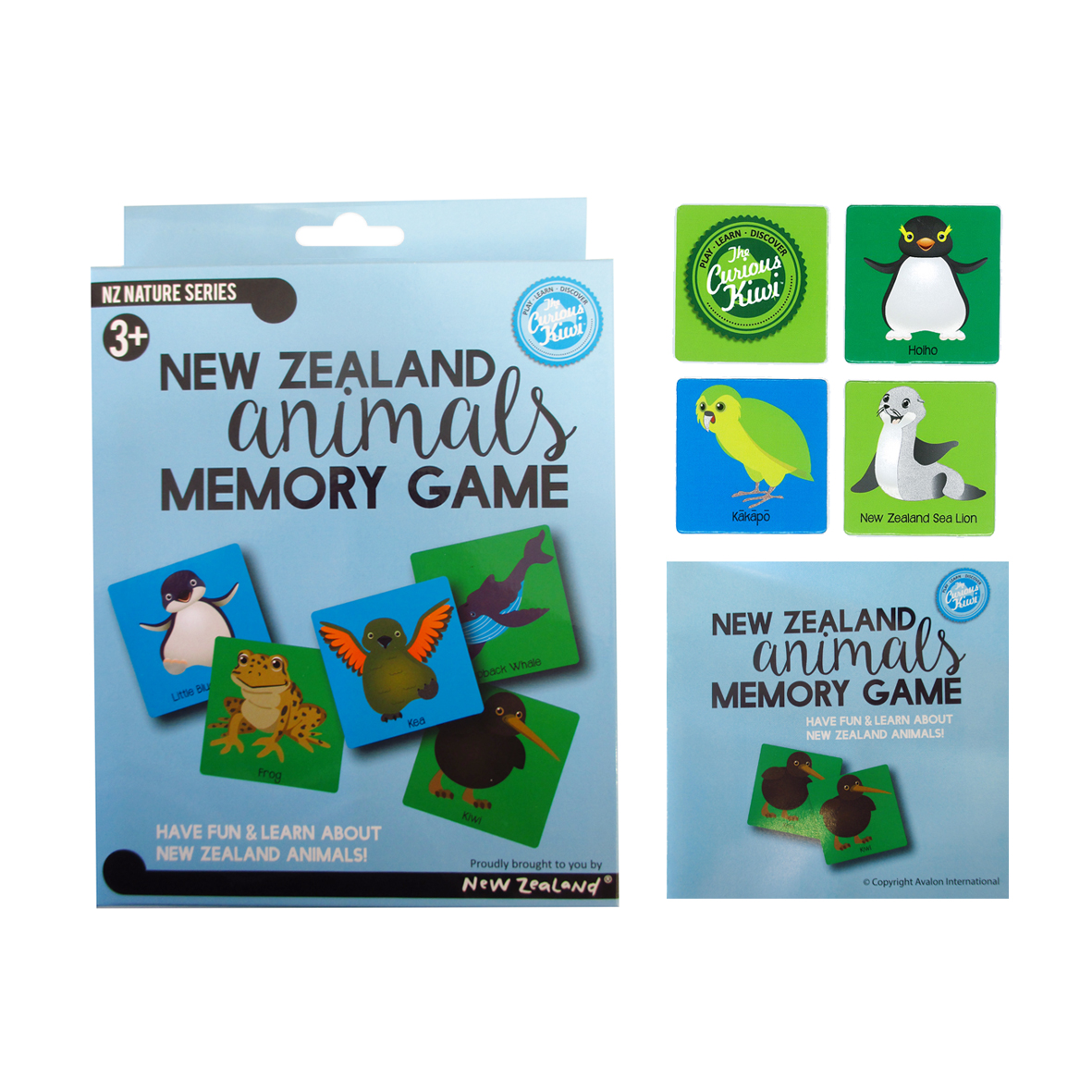 NZ Animals Memory Game