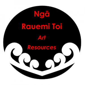 Poi Princess Art Māori Resources Button