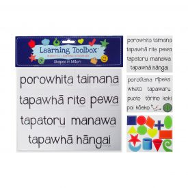 Shapes Magnets In Te Reo Māori