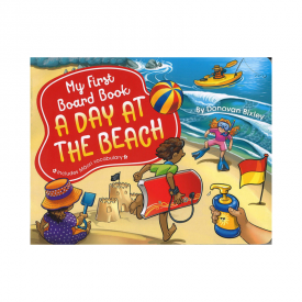My First Board Book: A Day At The Beach (Board Book)