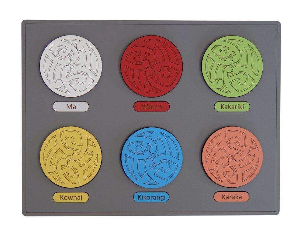 Ngā Tae – Colours Puzzle