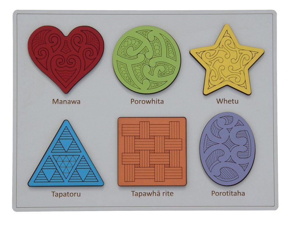 Ngā Āhua – Shapes Puzzle