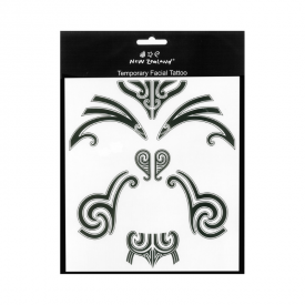 Māori Moko – Temporary Tattoos