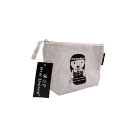 Kapahaka Kotiro Cotton Mini Bag