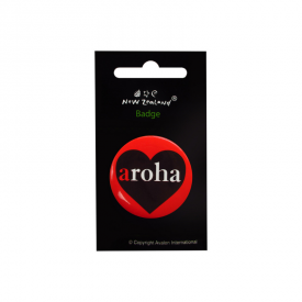 Aroha Badge