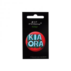 Kia Ora Badge