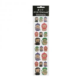 Māori Character Stickers