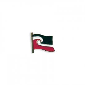 Māori Flag (Tino Rangatiratanga) Lapel Pin