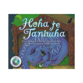 Hoha Te Taniwha (Book & CD)
