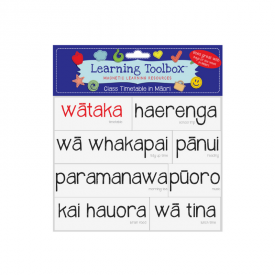 Class Timetable In Māori (magnets)