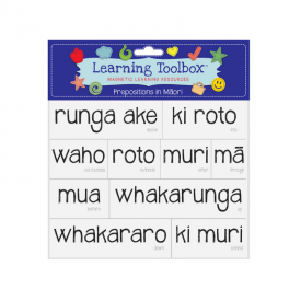 Prepositions In Māori (magnets)