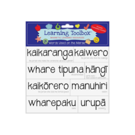 Words Used On The Marae In Māori (magnets)