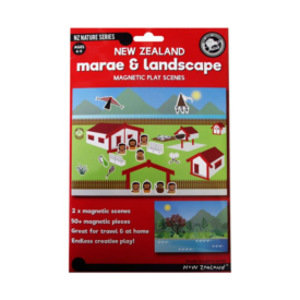 Marae & Landscape Magnetic Play Scenes