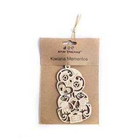 NZ Hanging Ornament – Tiki