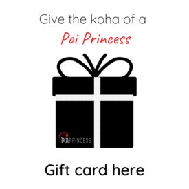 Poi Princess Gift Card
