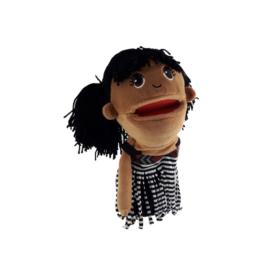 Māori Girl Hand Puppet