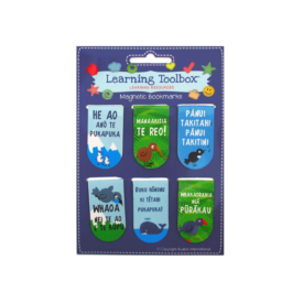 Māori Magnetic Bookmarks (6Pce)
