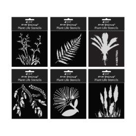 Stencils – NZ Plant Life (6 Pce)