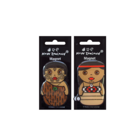 Māori Character Magnets (2 Pce)