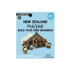 Marae – Build Your Own Wharenui NZ Boxset