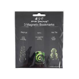Taonga Māori Magnetic Bookmarks (3Pce)