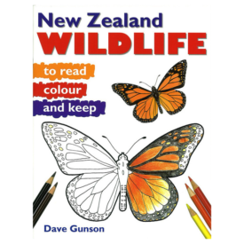 New Zealand Wildlife To Read, Colour & Keep