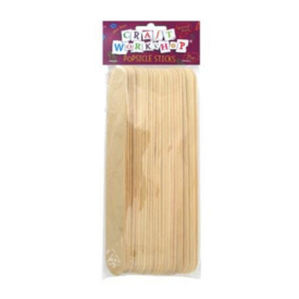 Extra Large Popsicle Sticks (25 Pce)